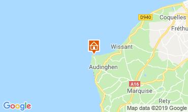 Mapa Audinghen Vivenda 116796