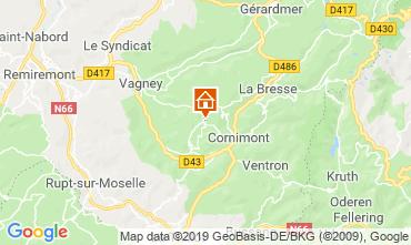 Mapa La Bresse Quarto de hóspedes 118267