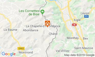 Mapa Châtel Chalé 16141