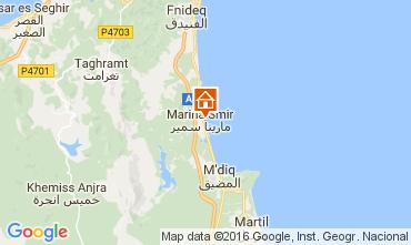 Mapa T�touan Apartamentos 59846