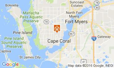 Mapa Cape Coral Vivenda 106569