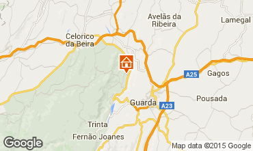 Mapa  Casa de turismo rural/Casa de campo 43861