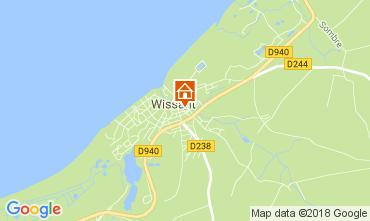 Mapa Wissant Casa de turismo rural/Casa de campo 113121