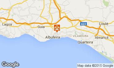 Mapa Albufeira Apartamentos 34940
