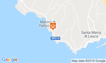 Mapa Santa Maria di Leuca Vivenda 64390