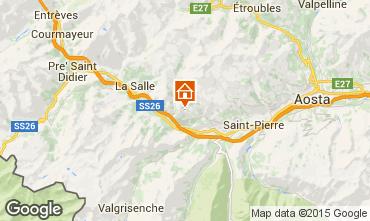 Mapa Saint Nicolas Casa de turismo rural/Casa de campo 91491