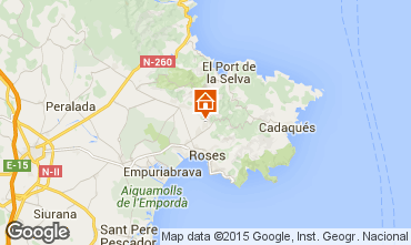 Mapa Rosas Casa 96414