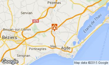 Mapa Cap d'Agde Casa 75942