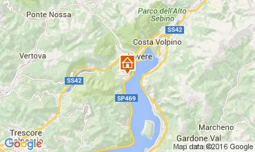 Mapa Riva di Solto Apartamentos 104903