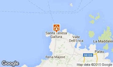 Mapa Santa Teresa di Gallura Apartamentos 75743