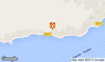 Mapa Ajaccio Estúdio 66053