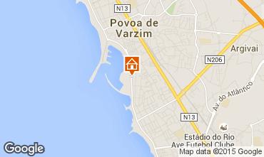 Mapa P�voa de Varzim Apartamentos 77353