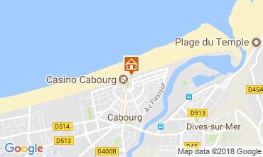 Mapa Cabourg Apartamentos 113997