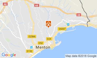 Mapa Menton Apartamentos 115764