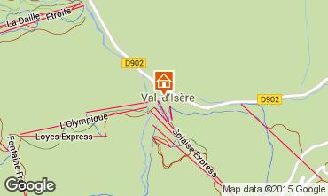 Mapa Val d'Isère Apartamentos 3359