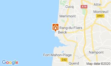 Mapa Berck-Praia Apartamentos 91344