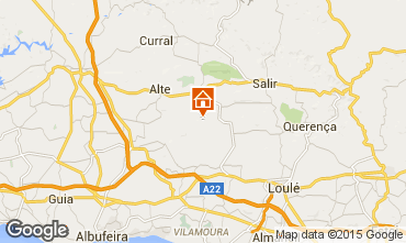 Mapa Loulé Alojamento insólito/Moradia atípica  96338