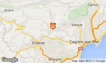 Mapa Cannes Casa de turismo rural/Casa de campo 84023