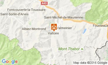 Mapa Valloire Apartamentos 74411