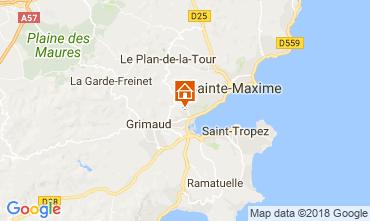 Mapa Saint Tropez Apartamentos 114631