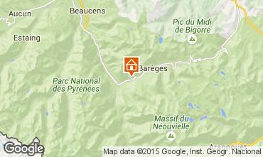 Mapa Barèges Casa 81702