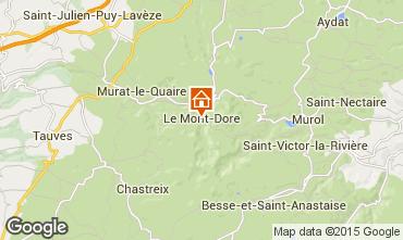 Mapa Le Mont Dore Apartamentos 42364