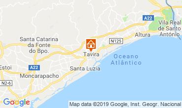 Mapa Cabanas de Tavira Apartamentos 119589
