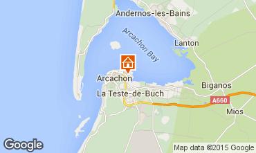 Mapa Arcachon Apartamentos 60781