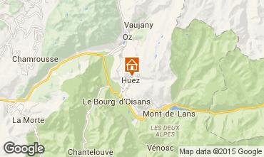 Mapa Alpe d'Huez Chalé 100569