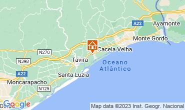 Mapa Cabanas de Tavira Apartamentos 56656