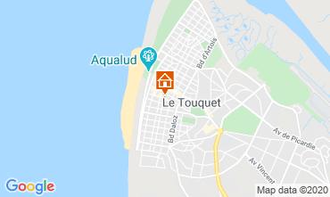 Mapa Le Touquet Apartamentos 118316