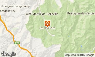 Mapa Les Menuires Estúdio 27183