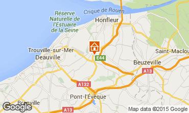 Mapa Honfleur Casa 7708