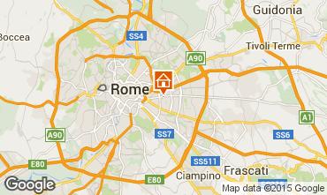 Mapa Roma Apartamentos 74636