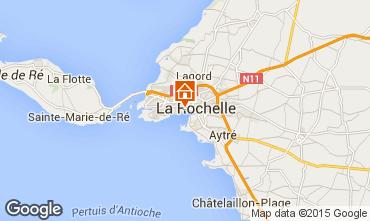 Mapa La Rochelle Casa de turismo rural/Casa de campo 75124