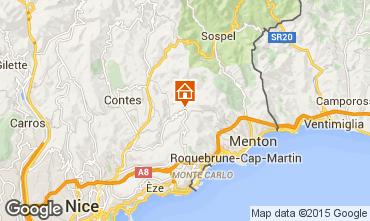 Mapa Mónaco Bungalow 100205