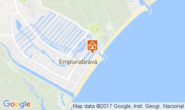 Mapa Empuriabrava Apartamentos 110284