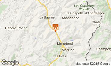 Mapa Saint Jean d'Aulps- La Grande Terche Est�dio 2513