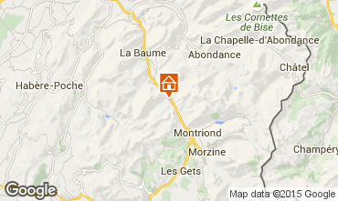Mapa Saint Jean d'Aulps- La Grande Terche Estúdio 2513
