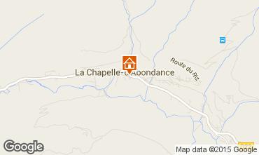 Mapa La Chapelle d'Abondance Apartamentos 66705