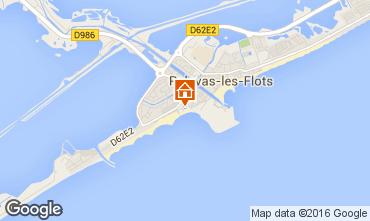 Mapa Palavas-les-Flots Apartamentos 6117