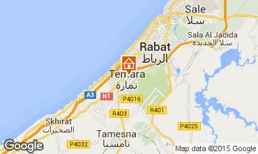 Mapa Rabat Apartamentos 54123