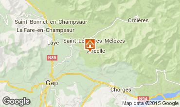 Mapa Ancelle Chalé 526