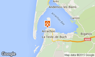 Mapa Arcachon Apartamentos 75728