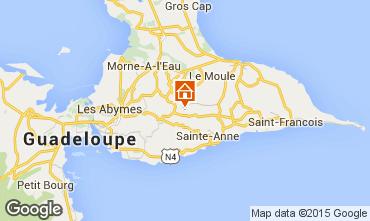 Mapa Sainte Anne (Guadalupe) Casa de turismo rural/Casa de campo 8024