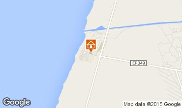Mapa Praia da Vieira Apartamentos 57013