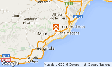 Mapa  Benalm�dena Est�dio 58200
