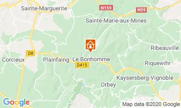 Mapa Estação do Lac Blanc Chalé 4523