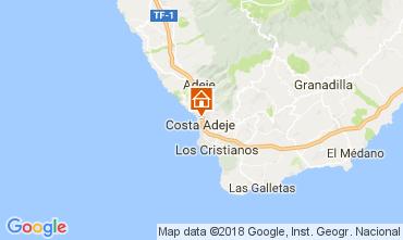 Mapa Playa de las Américas Apartamentos 113177
