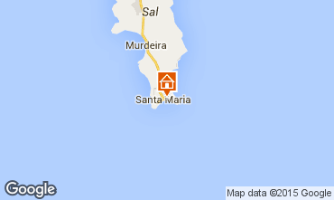 Mapa Santa Maria Apartamentos 89190